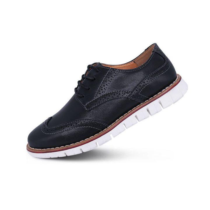 Anti-Slip Leather Brogues – Merkmak Shoes